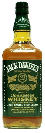 Jack Daniels Whiskey Green Label